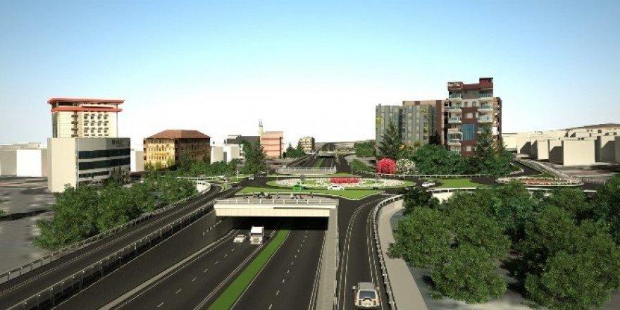 Turgutlu'daki kavşak projeleri adım adım ilerliyor