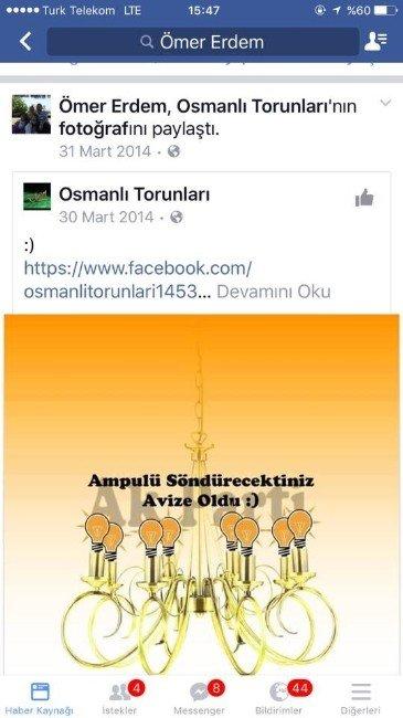 "AK Parti'li Erdem; ""Kardeşime sonuna kadar kefilim"""
