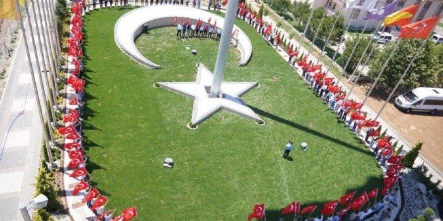 Bayrak Park Alanı 15 Temmuz Şehitler Parkı oldu