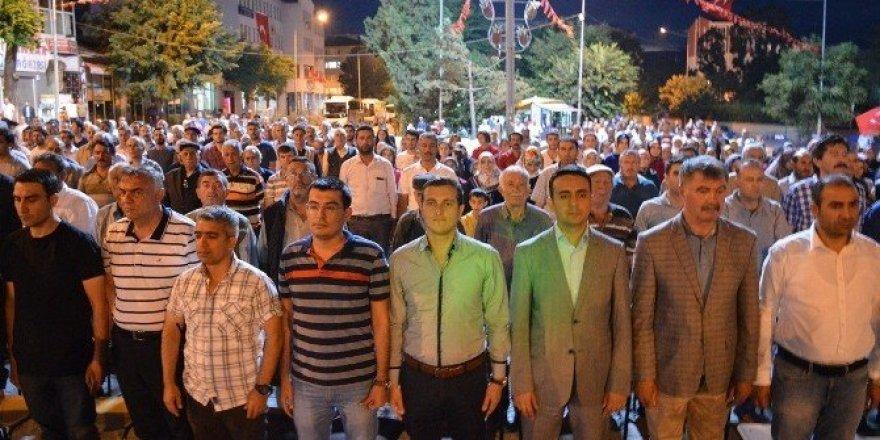 15 temmuz şehitleri için Kağızman'da mevlit okutuldu