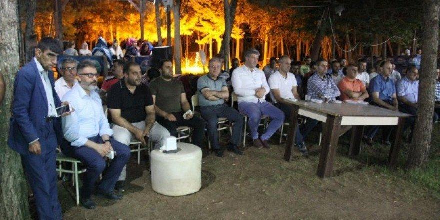 Silopi'de demokrasi şehitleri için mevlit verildi