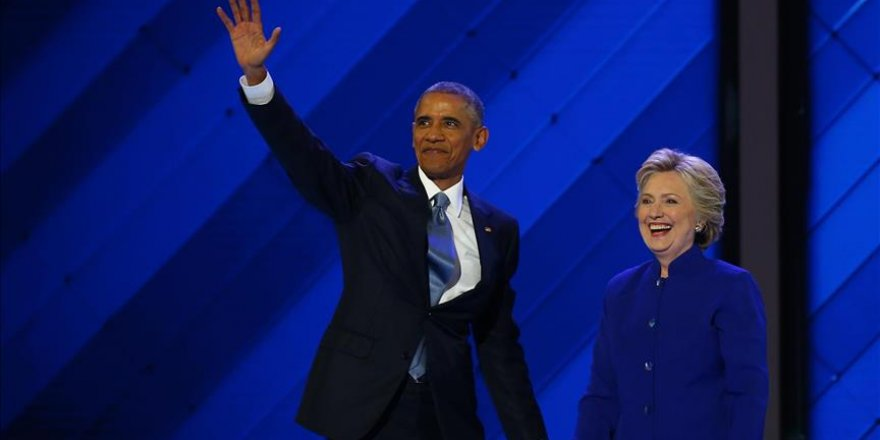 Obama rallies support for Clinton ahead of US election