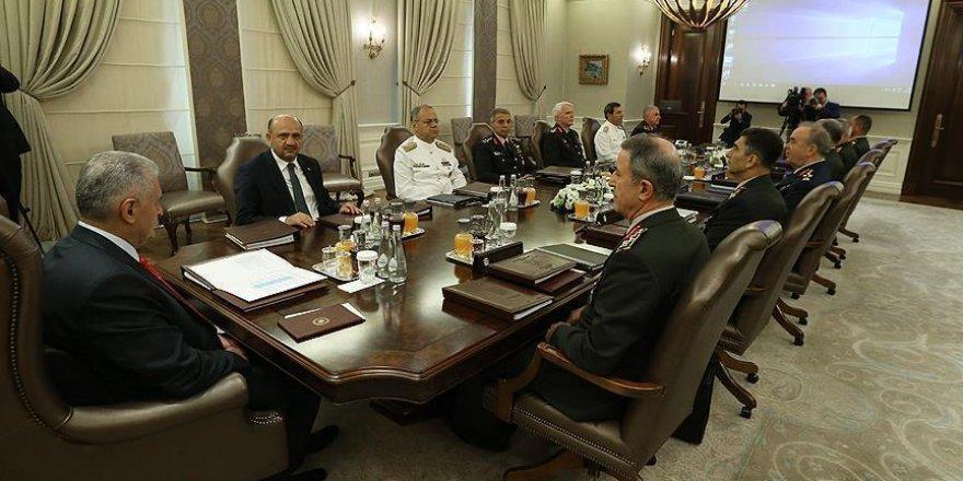 Supreme military council convenes