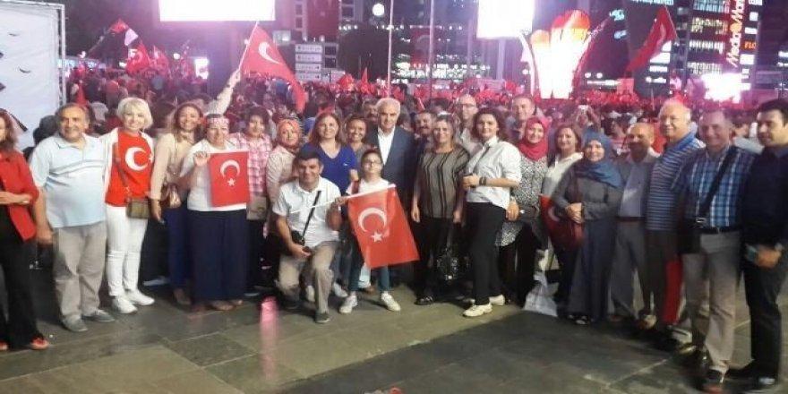 Başkent Ankara Meclisinden Demokrasi Nöbetine devam