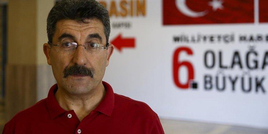 MHP Kongre Çağrı Heyeti Başkanı Ayhan Erel gözaltında