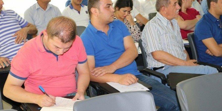 MASKİ'nin ilçe personeline idari işler semineri verildi