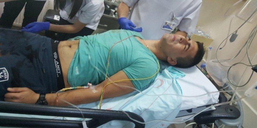 Tartıştığı arkadaşını pompalı tüfekle vurdu