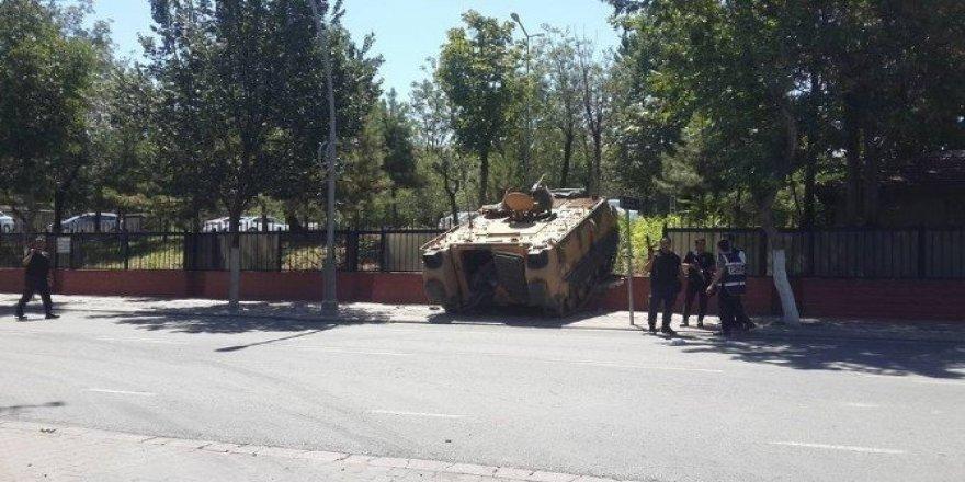 Malatya'da bir yarbay tutuklandı