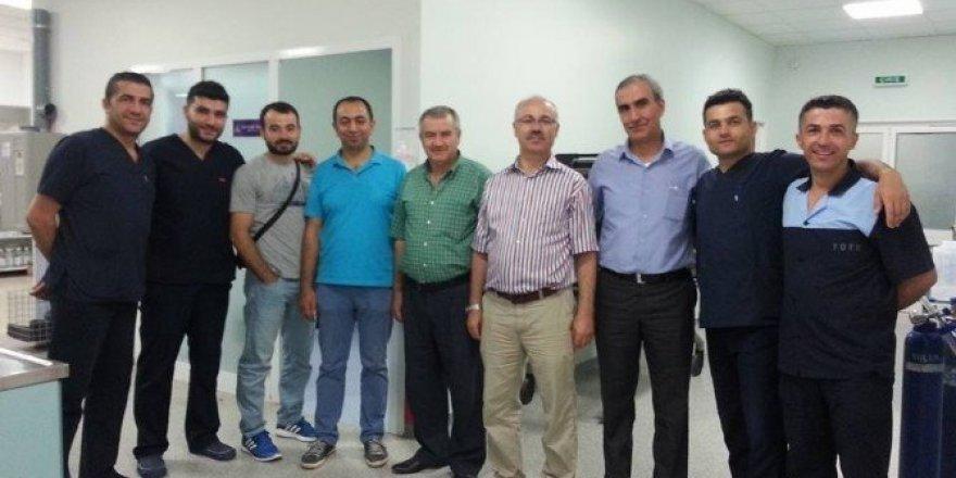 Sağlık-Sen'den TÖTM çalışanlarına ziyaret