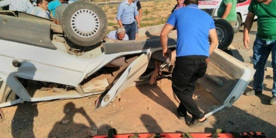 Uşak'ta trafik kazası; 1 ölü 3 yaralı