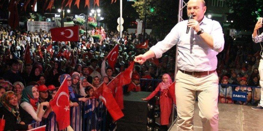 AK Parti Kütahya İl Başkanı Ali Çetinbaş: Biz bu ülkenin gerçek sahipleriyiz