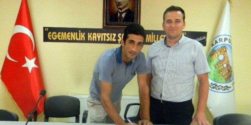Karpuzlu Belediyespor kaleci İbrahim ile nikah tazeledi