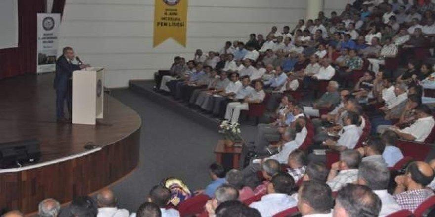 Milli Eğitim Müdürü Demir, okul müdürleri ile toplantı yaptı