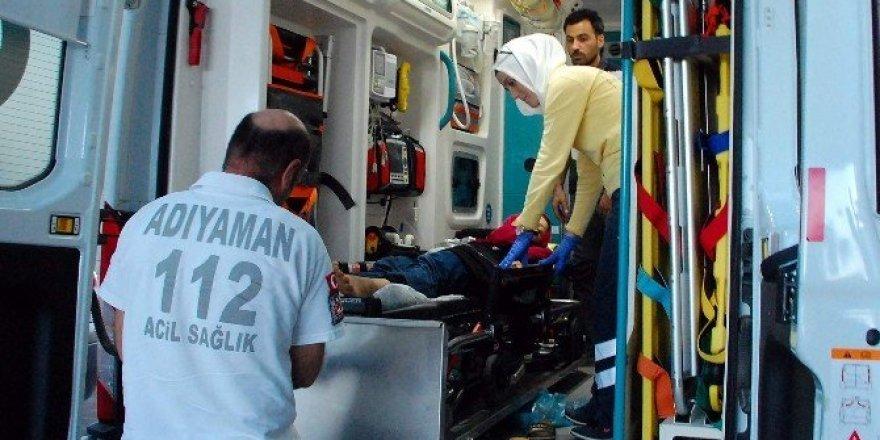 Elektrik akımına kapılan Suriyeli kadın yaralandı