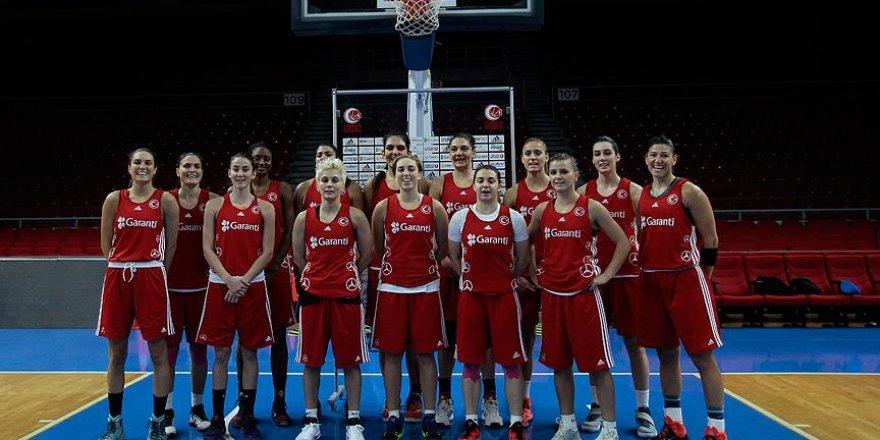 A Milli Kadın Basketbol Takımı 6 Ağustos'ta parkeye çıkıyor