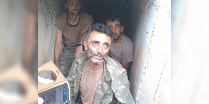 Zekeriya Kuzu'nun yakalanma anına ait fotoğrafı ortaya çıktı