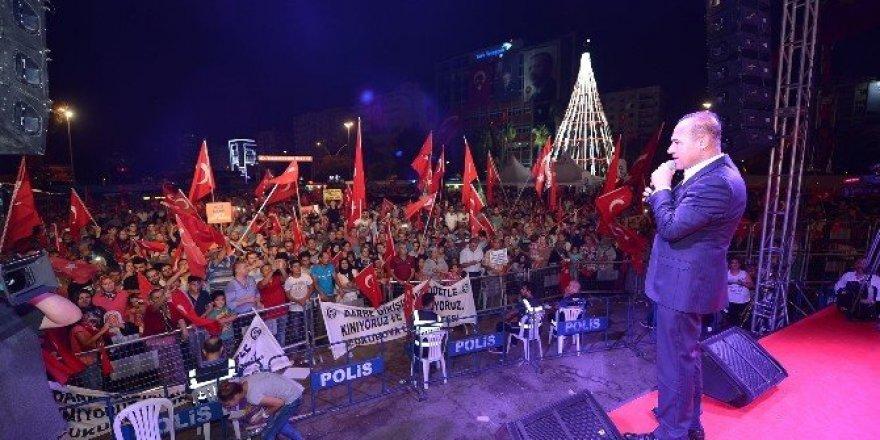 """Sözlü: """"Adana'ya 15 Temmuz Demokrasi ve Şehitler Parkı yapıyoruz"""""""
