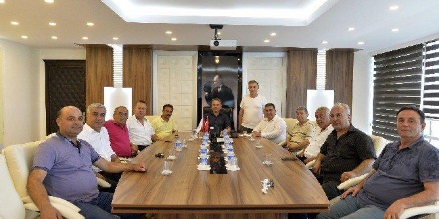 Başkan Uysal'a ziyaretler