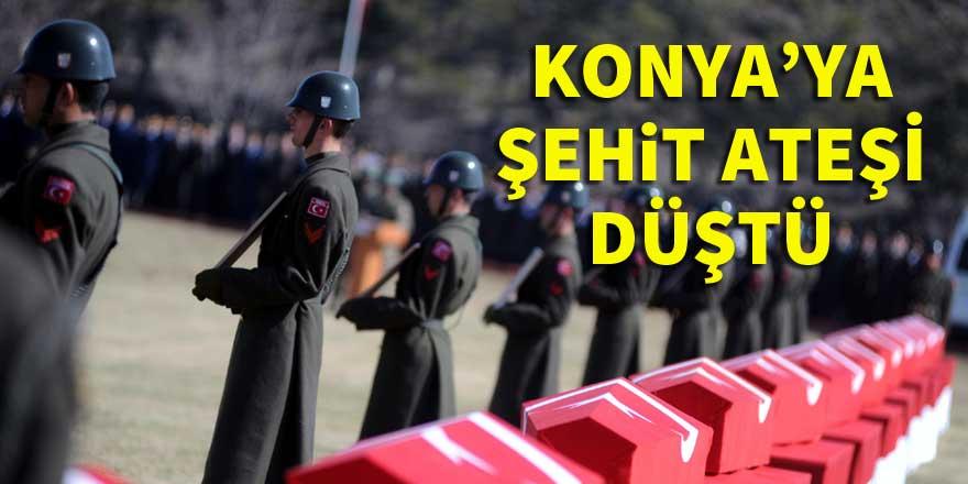 Konya'ya 2 şehit ateşi düştü