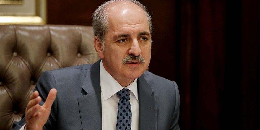 Numan Kurtulmuş: Türkiye'nin kendisine dönmesi lazım