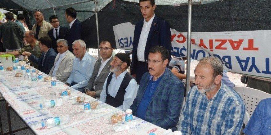 Bakan Tüfenkci, şehit asker için okutulan mevlide katıldı