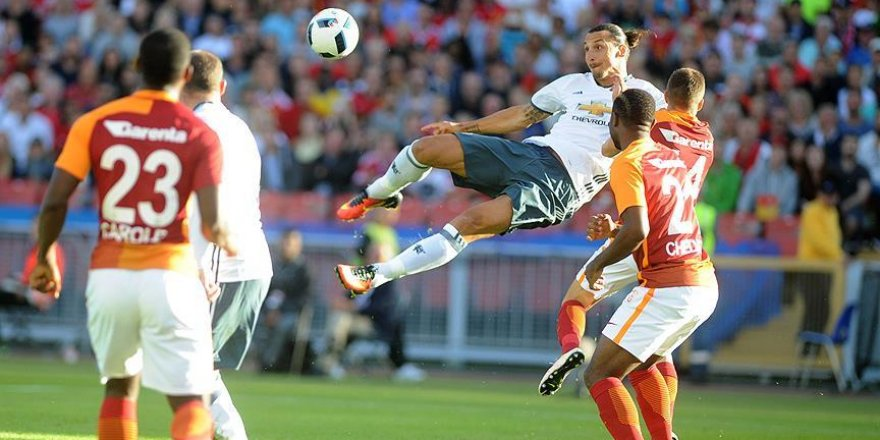 Galatasaray, Manchester United'a yenildi