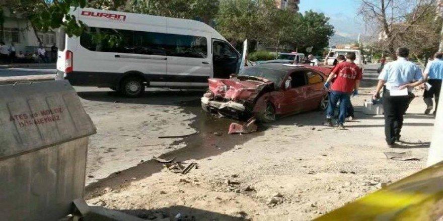 Trafikte kovalamaca ölümle sonlandı