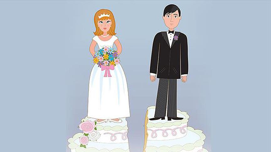 En fazla boşanma İstanbul'da, en az ise...