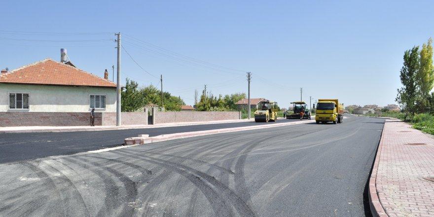 Şehir hastanesi için yeni güzergahlar asfaltlanıyor