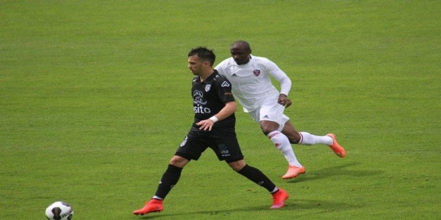 Kardemir Karabükspor üçüncü hazırlık maçında da berabere kaldı