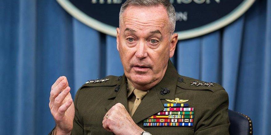ABD Genelkurmay Başkanı Dunford Irak'ta