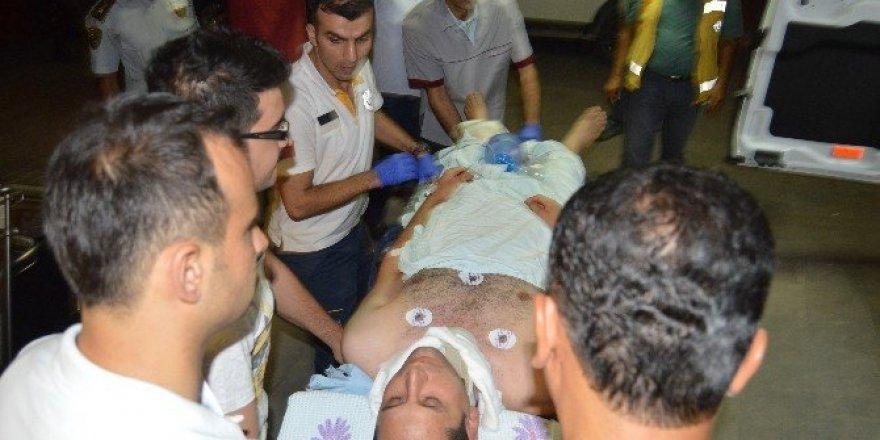 Adıyaman'da polis memuruna sopalı saldırı