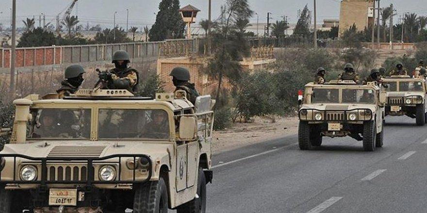 Mısır ordusunun Sina'daki operasyonlarında 46 kişi öldü