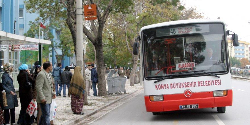 Konya Büyükşehir'den toplu ulaşım duyurusu