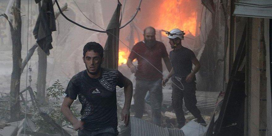 Halep'te sivil yerleşim yerine bombalı saldırı: 10 ölü, 30 yaralı