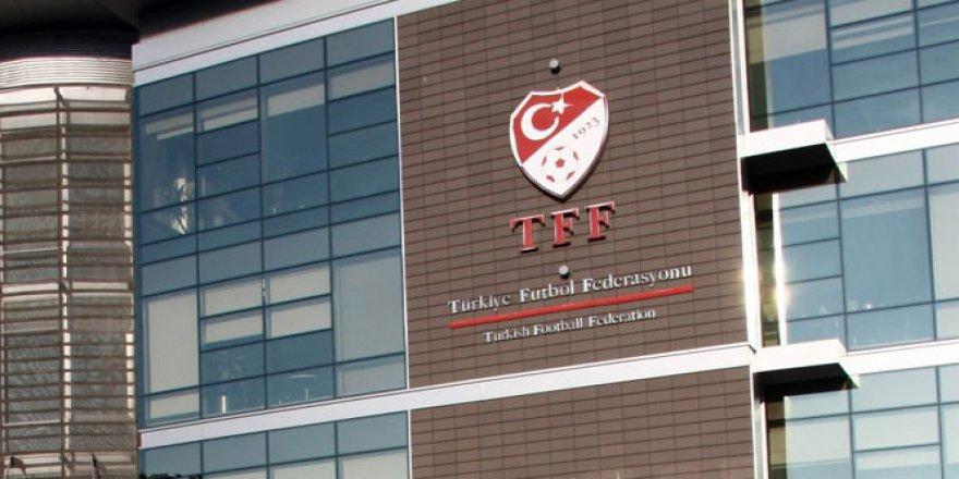 TFF'den istifa açıklaması