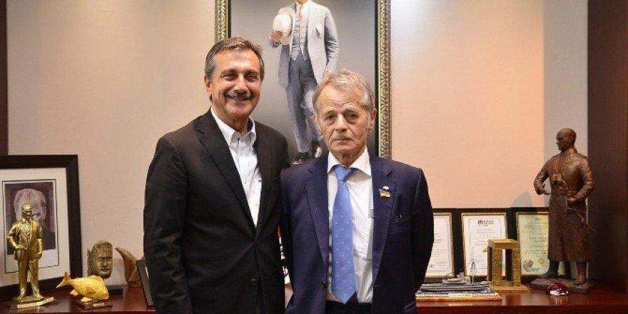 Başkan Ataç, Kırımoğlu'nu ağırladı