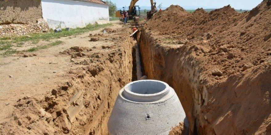 Manisa'da iki yılda 120 bin metre kanalizasyon hattı döşendi