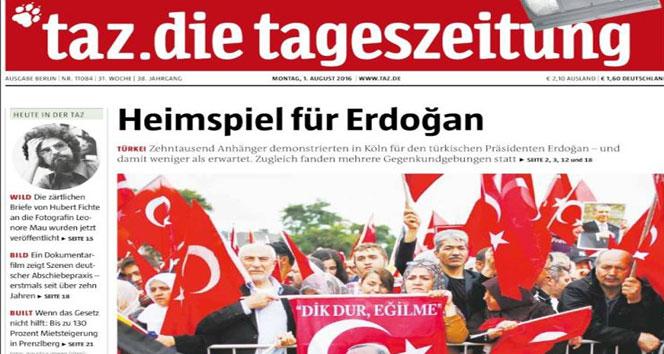 Almanların sansürü Alman basınında da eleştirildi