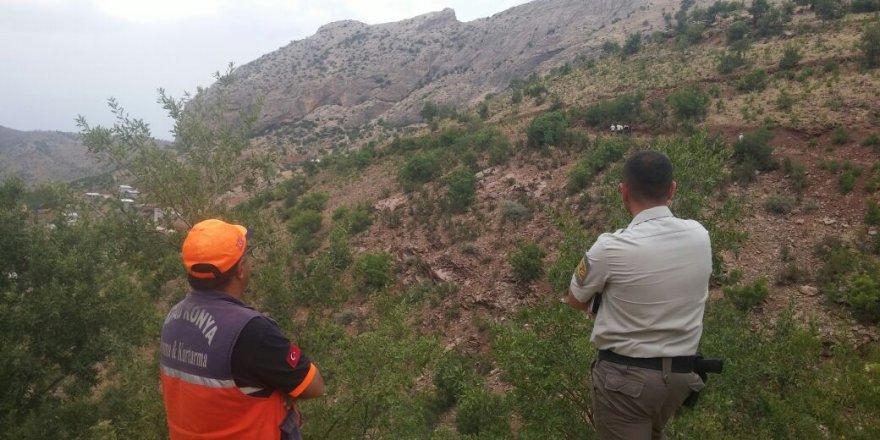 Konya'da ekipler, kaybolan yaşlı adam için seferber oldu