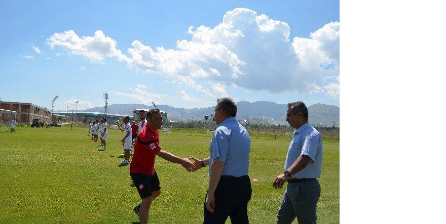 Erzurum GHSİM'den özel futbolculara moral