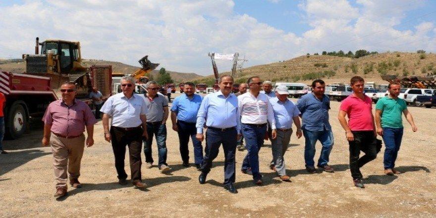Çankırı Belediyesi'nin Araç Filosu Göz Doldurdu