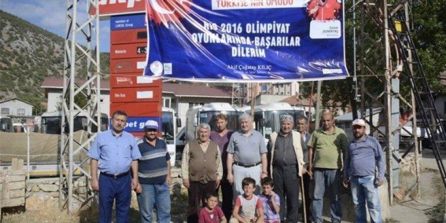 Rio Olimpiyatları'nda Tokat'ın ve Türkiye'nin gururu olacaklar