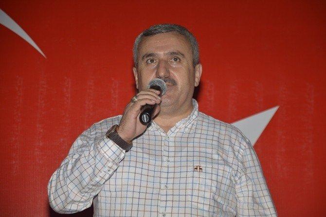 Başkan Baran, milli irade ve demokrasi nöbetine katıldı