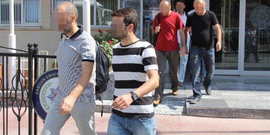 Samsun'da FETÖ operasyonunda 5 öğretmen tutuklandı