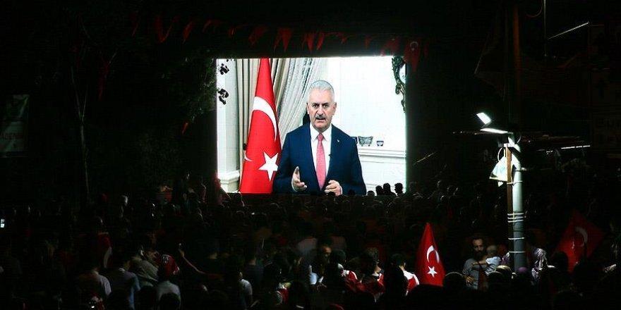 Yıldırım: Türkiye bugün 15 Temmuz öncesine göre daha güçlüdür