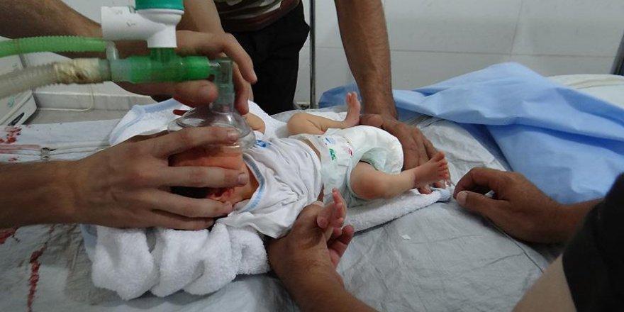 Esed güçleri bebekleri 'klor gazı'yla vurdu