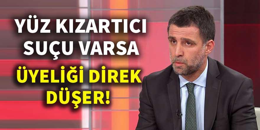 Galatasaray'dan flaş Hakan Şükür kararı!