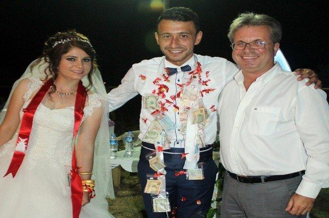 Süper Amatör Lig'in gol kralı evlendi