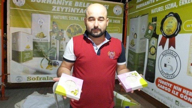 Burhaniye'de yazlıkçılara belediye sabunu